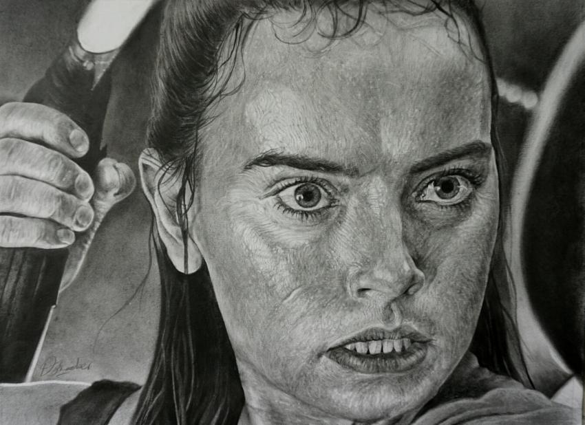 Daisy Ridley by boonie1974